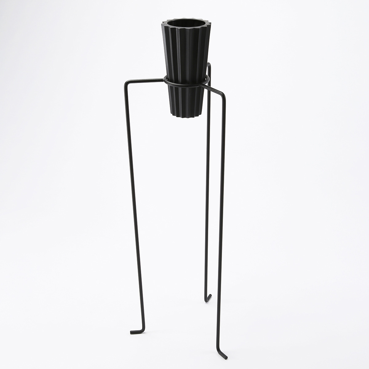 Pot Stand Black Large (set)