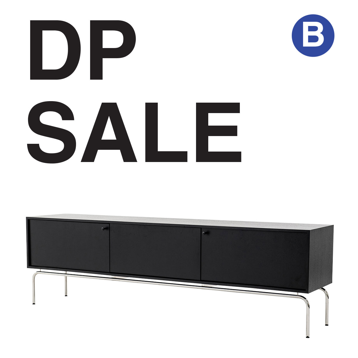 LINEA TV STAND DISPLAY -DP [B]